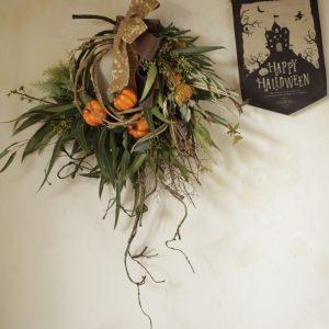 ハロウィンの壁飾り