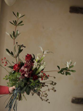 個性的な花束